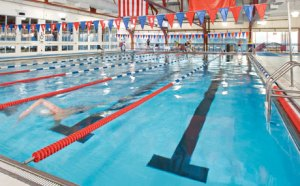 The pools at Chelsea Piers, powered by the wind. Image from NYCgo.
