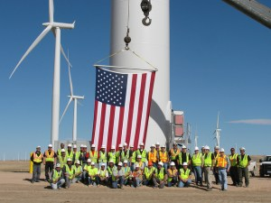 Colorado alone supports about 5,000 wind jobs. Image from CleanTechnica.com.