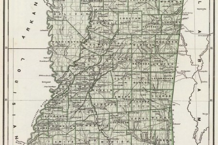 Map Of South Mississippi - Map of south mississippi