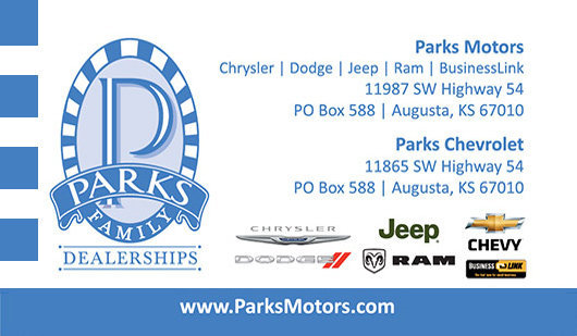 Parks Motors Business Card Request Form Order