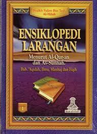 Ensiklopedi Larangan menurut Al-Qur'an dan As-Sunnah