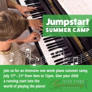 Jump Into Piano Lessons!