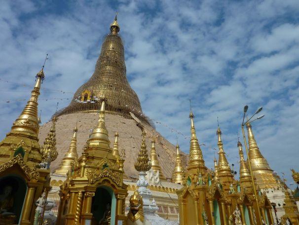 La fameuse pagode Shwedagon