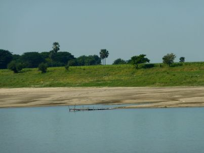 Entre Bagan et Mandalay, en bateau