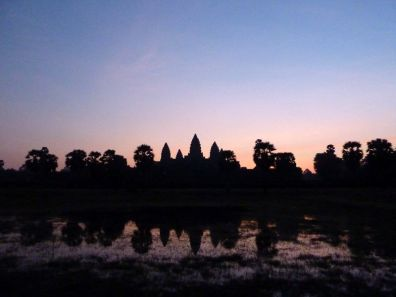 Lever de soleil à Angkor Vat
