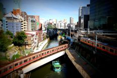 Non ce n'est pas une maquette, juste Tokyo, près d'Akihabara