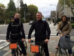 A vélo dans Kyoto!