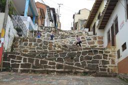 San Gil est construite dans une valée