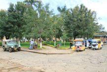 """La place principale et son """"Parque"""""""