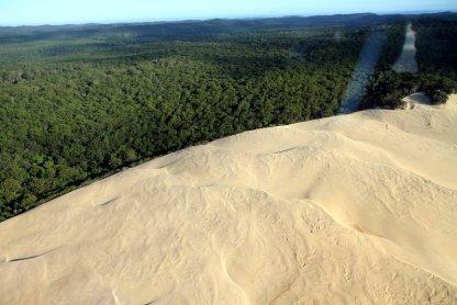 Du sable + forêt = Fraser Island
