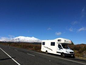 Tongariro National Park: le mont Ruapehu et notre monstre!