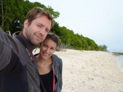 Robinson et Vendredi sur Lady Musgrave Island :-p