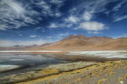 Laguna Colorada sans vent