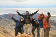 Au somment du volcan Tupana à 5000m, la routine quoi!