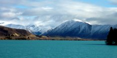 Le lac Wanaka toujours et son bleu turquoise!