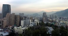 Santiago, et son smog