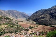 La vallée sacrée...mais on se croirait presque au belvédère de Chemin-Dessous!