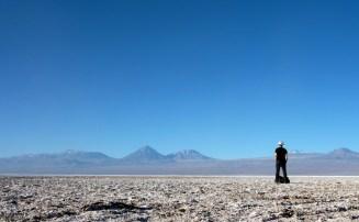 Au beau milieu du désert de sel (alt. 2300 m)