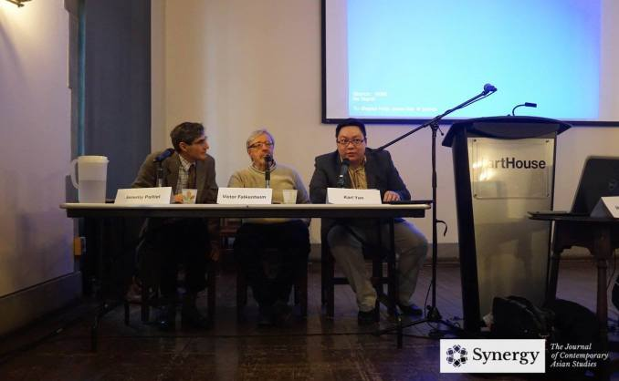 Panellists and Chair during the discussion period excluding Professor Hasan Karrar who Skyped from Pakistan) | Image: Synergy Journal, Asian Institute, University of Toronto