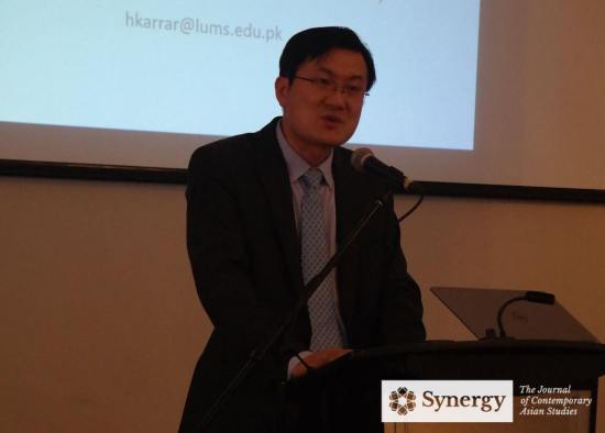 Deputy Consul General Mr. Xu Wei making opening remarks | Image: Synergy Journal, Asian Institute, University of Toronto