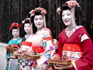 The traditional dress of the women of Kyoto, Japan | Image: United States Army Pacific