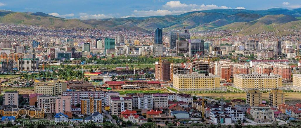 Ulan Bator or Ulaanbaatar, the capital and the largest city of Mongolia   Photo Credit: Kaare Ward Jensen