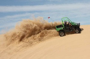 Sand Dunes and Paddle Tires