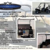Marshall Motoart Releases Their New Standard 5.5 Cage Kit for the Polaris Ranger