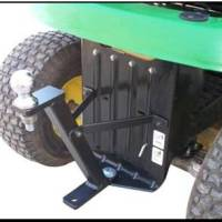 The Hi-Hitch by Great Day, put your riding mower to work!