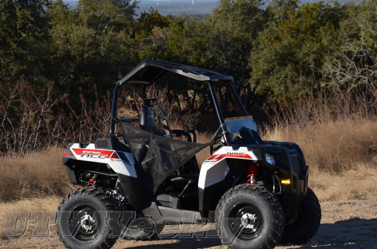 The NEW Polaris Sportsman Ace - the UTV/ATV Game Changer