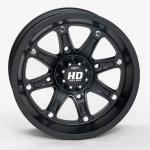 STI Off-Road Introduces HD4 Ltd. Matte Black Wheels