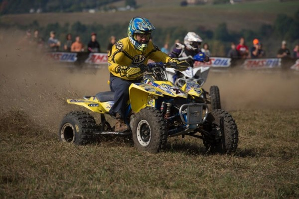Kenny Rich Sr., earned another GNCC victory, taking the Masters 50+ class win on his Suzuki outfitted with ITP Holeshot GNCC tires.