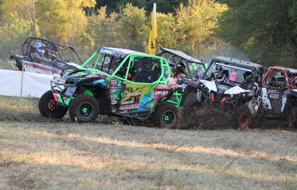 Zac Zakowski won three total classes (and took over the UTV Open class points lead) at the Iowa ATV Hare Scramble Series race this past weekend in Iowa. (Image by Paige Miller)