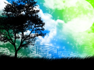 music_is_nature__silhouette