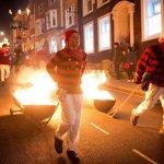 Bonfire societies parade