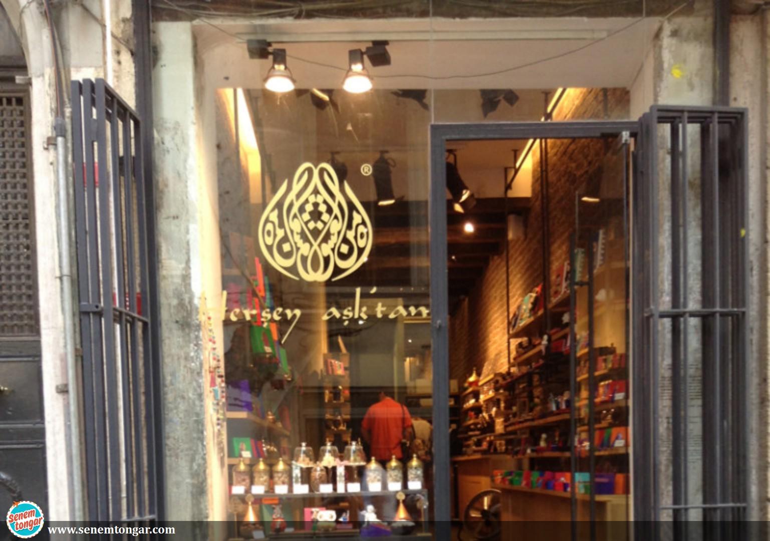 Her Şey Aşk'tan-Galata'da Tatlı Bir Dükkan