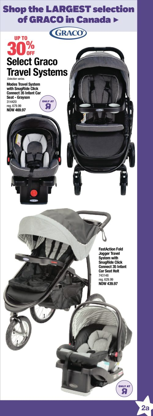 Medium Of Graco Modes Click Connect Travel System