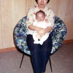 Mom and baby me 1970