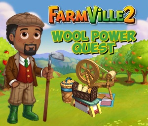 Farmville 2 Wool Power Quest