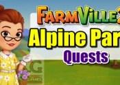 Farmville 2 Alpine Party Quests