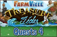Farmville: Treasure Tides Quests 4 Guide