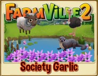 Farmville 2: Plant Society Garlic to attract butterflies!