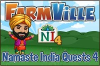 Farmville: Namaste India Quests 4 Guide
