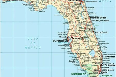 Map Of Major Cities In Florida - Fl map with cities