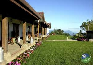 Villa Blanca Porch View