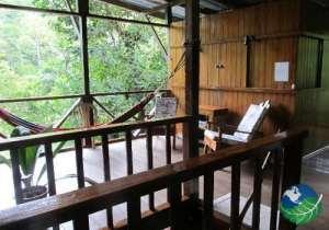 Bosque del Rio Tigre Lodge Living Room