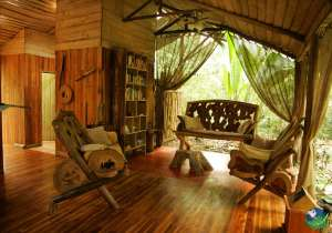 Danta Corcovado Lodge Living Room