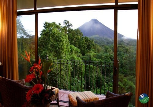 Hotel Arenal Kioro View from Room