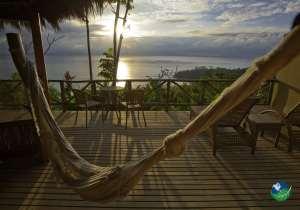 Lapa Rios Ecolodge Private Deck