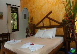 Maquenque Eco Lodge Double Bed Bedroom